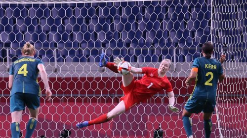 Matildas fall in Sweden epic as Kerr scores twice, misses penalty after 'atrocious' call