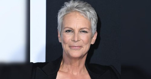 Mother's Carbon Copy: Jamie Lee Curtis And Daughter Annie Both Have Grey Hair And Look Fabulous Together