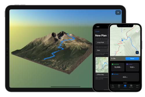 Take a Mountain Hike With the New App Landscape