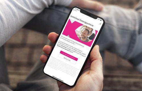Telekom verschenkt einen Monat unbegrenztes Datenvolumen
