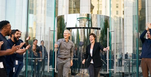 50 things Apple CEO Tim Cook told us today