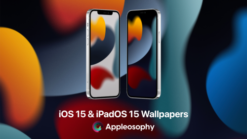 Here are the new iOS 15 and iPadOS 15 Wallpapers