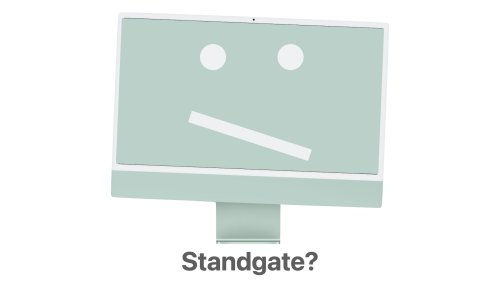 Standgate? Some M1 iMacs with Crooked Stands Begin to be Seen in the Wild