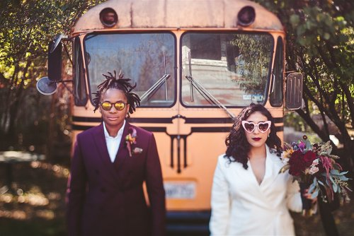 Our $5K Curbside Elopement in Downtown Austin
