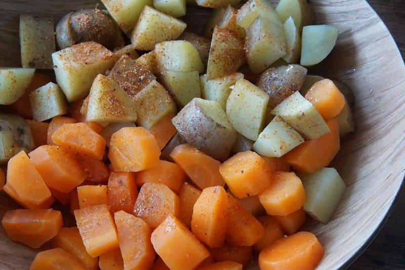 Instant Pot Potatoes & Carrots