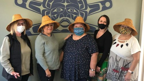 'The spirit of the medicine will lead us back': How Avis O'Brien is guiding Elders to weave their first cedar hats
