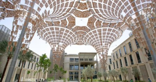 Expo 2020 Dubai completes petal-shaped thematic districts