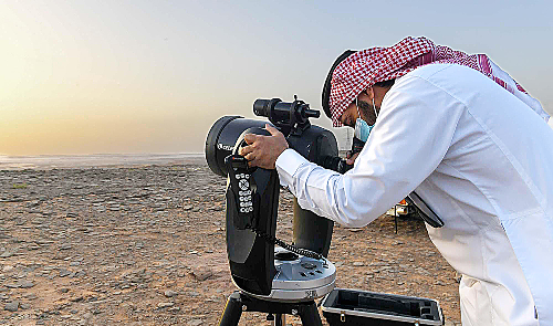 Saudi family of crescent sighters carrying on 100-year-old tradition