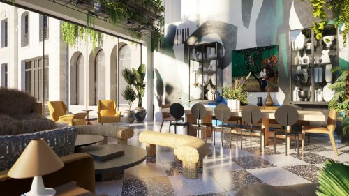 A First Look Inside The Iconic Home, the Virtual Showhouse from AD and the Black Interior Designers Network