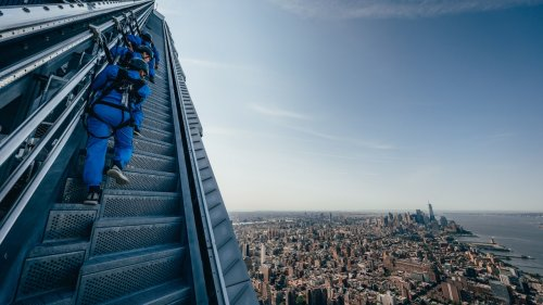Now You Can Climb Outside a Skyscraper to the Top of New York City