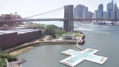 New York City Has Just Approved a Floating Pool in Its East River