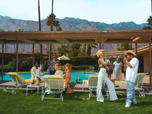 Jay-Z and Hype Williams Put a New Twist on Slim Aarons