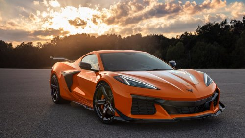 The 2023 Corvette Z06 Has Just Been Unveiled—and It Doesn't Disappoint