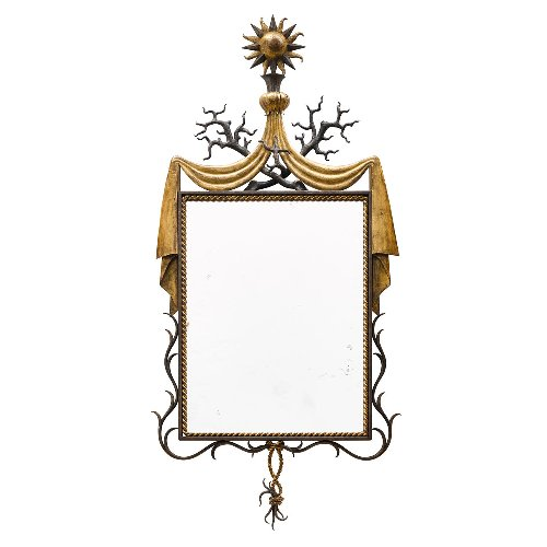 An Opulent Mirror Once Owned by Karl Lagerfeld Is About to Go Up for Auction