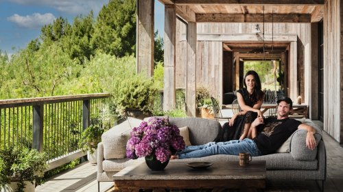 Step Inside Ashton Kutcher and Mila Kunis's Sustainable L.A. Farmhouse