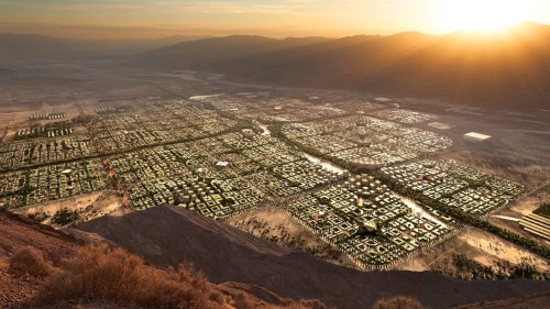 Step Into A $500 Billion 'City of the Future' Dreamed Up By An American Billionaire