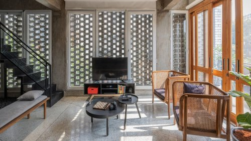 Delhi home: This dwelling brings back the 70s with its architecture
