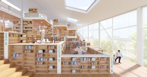 Songdo Central Library // JDAP Design - Architecture - Planning