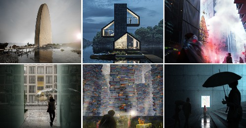 100 Renderings That Tell Powerful Stories About Architecture - Architizer