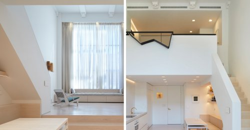 Marvelous Maisonettes: 9 Duplexes that take Small Living to the Next Level