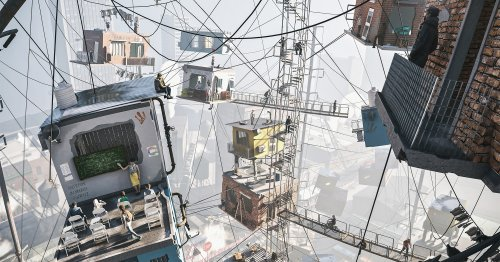 """""""Hanging by a Thread"""" Re-Presents an Infamous Slum in Argentina's Capital"""