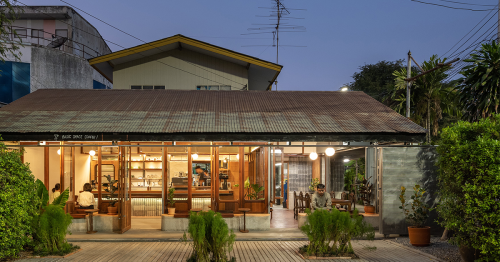 Basic Space Coffee // BodinChapa Architects