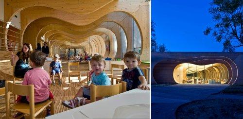 Elementary Architecture: 6 Playful Kindergarten Designs From Around the World