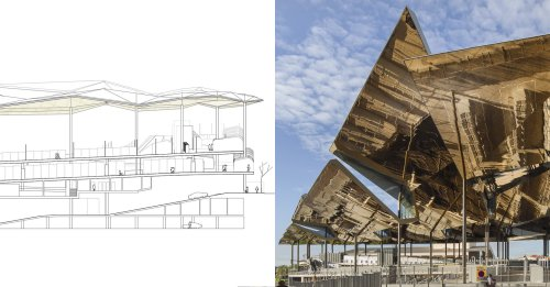 Architectural Drawings: Iconic Spanish Markets in Section - Architizer Journal