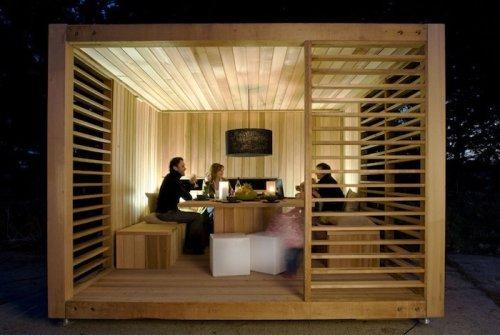 Le top des ABRIS de Jardin – 45 idées design - Archzine.fr