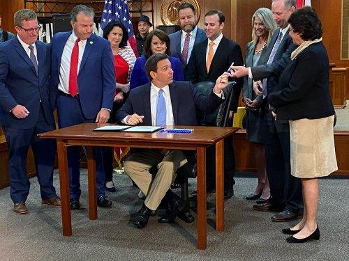 Florida Gov. Ron DeSantis says he will prevent COVID-19 vaccine 'passports,' signs liability bill