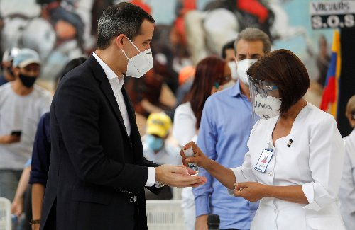 Venezuela's seeking of specific vaccines will slow inoculation, Guaido says