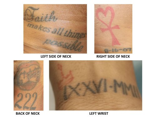 Can you help? Police release tattoo photos of unidentified woman found dead in Gwinnett park