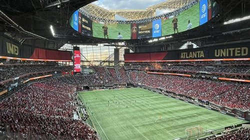 Atlanta United says they played a world record-breaking game over the weekend
