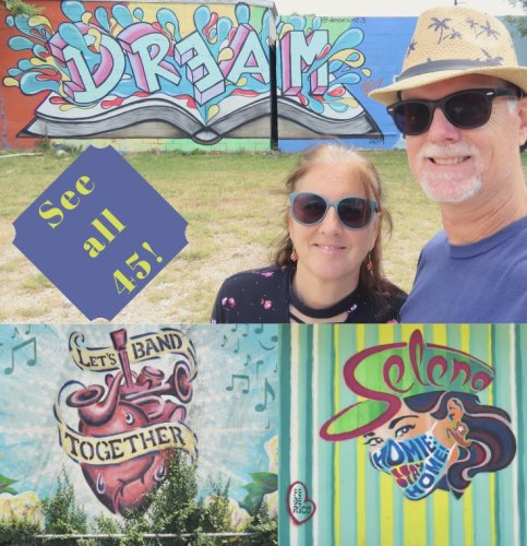 East Austin Dreamin' for Magnificent Mural Mania