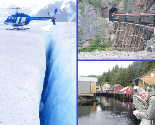 Planes, Trains and Sleds, Oh My! Cruising Alaska Is Awesome!