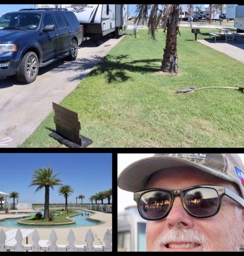 A Taste of Resort Life on Galveston Island - RV Style!