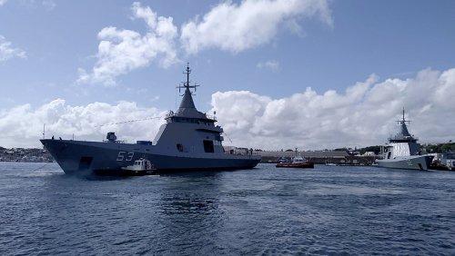 """Fue botado el patrullero oceánico multipropósito ARA """"Storni"""""""