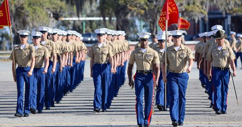Please leave your guns at home for boot camp graduation, Parris Island officials say