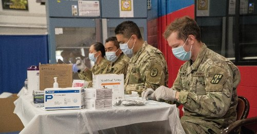 Army cracks 1 million COVID-19 vaccinations