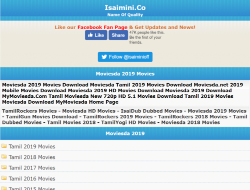 Isaimini 2021: HD Tamil, Telugu, Dubbed Movies Download For Free