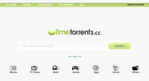 Limetorrents (2021): 100% Verified Unblocked Torrents Download Free