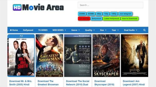 HDmoviearea 2021: Download 300MB Bollywood, Hollywood Movies in HD