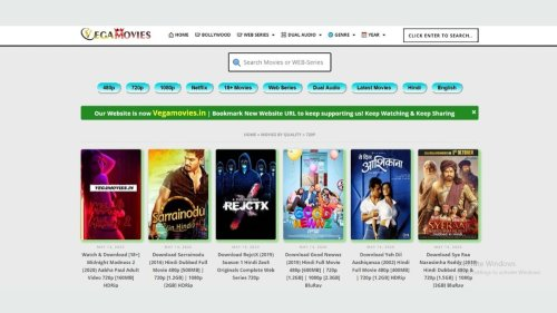 Vegamovies 2021: Download Movies, Web Series & Shows in 480p & 720p