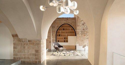 Una casa de piedra en Israel que es toda una lección de respeto por la historia