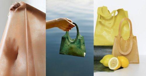 No tires las pieles de la fruta, pueden convertirse en una práctica bolsa