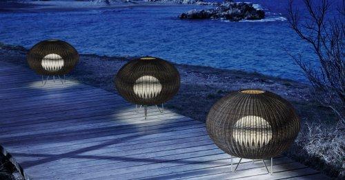 Las lámparas de Gonzalo Milà que querrás para decorar tu terraza