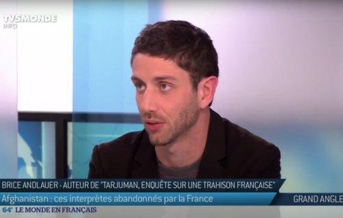 Un journaliste, une idée fixe #4 : Brice Andlauer et les interprètes afghans de l'armée française