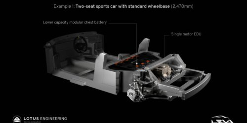 Here's how Lotus is going to build lightweight electric sports cars