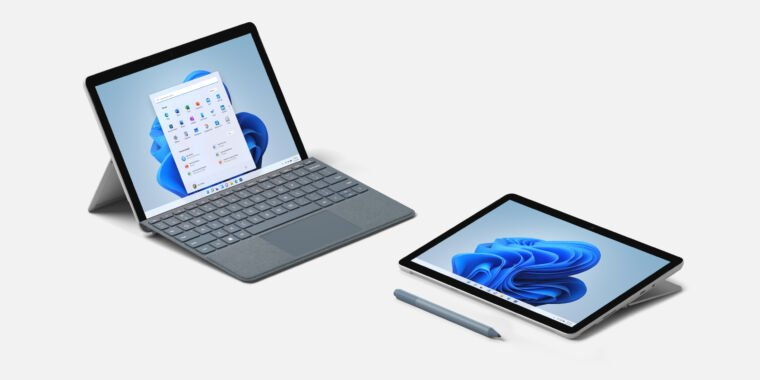 Surface Go 3 is a processor bump for Microsoft's smallest tablet