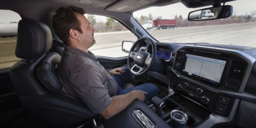 Ford's hands-free answer to GM's Super Cruise is called BlueCruise